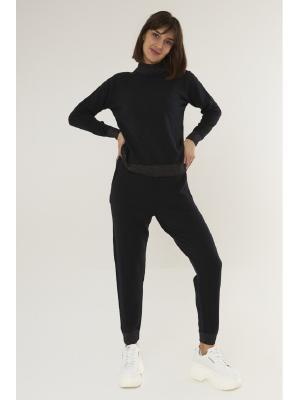 Женский костюм (Свитер, брюки) 47054-black