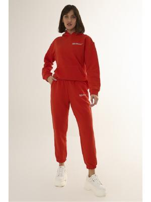 Женский костюм с капюшоном (Худи, брюки) Jolie 6009-r