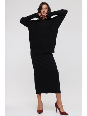 Женский костюм (свитер, юбка) Fine LM3315AB-b