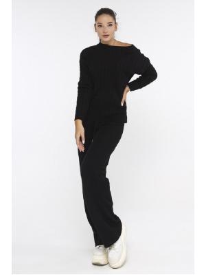 Женский костюм (свитер, брюки) Fine YL615AB-bl