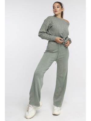Женский костюм (свитер, брюки) Fine YL615AB-o