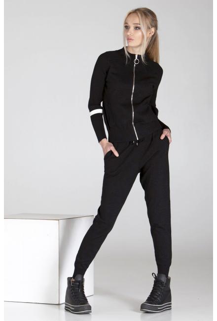 Женский костюм с люрексом (кофта, брюки) M&T-1980