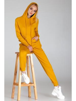 Женский костюм с капюшоном (Худи, брюки) PPT H-9236 gor