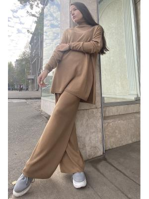 Женский костюм с брюками палаццо (Свитер, брюки) S-110- kemel