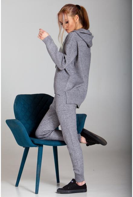 Женский костюм (Худи, брюки)   Kontatto-1955