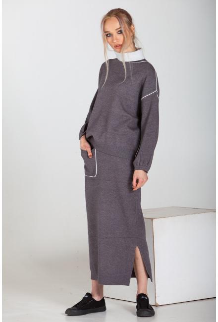 Женский костюм (Юбка, свитер) Finery-1992