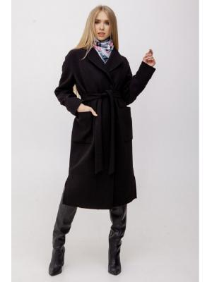 Пальто удлиненное M-2011-bl