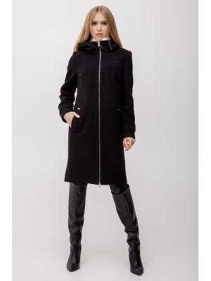 Пальто демисезонное с капюшоном M-2017-bl
