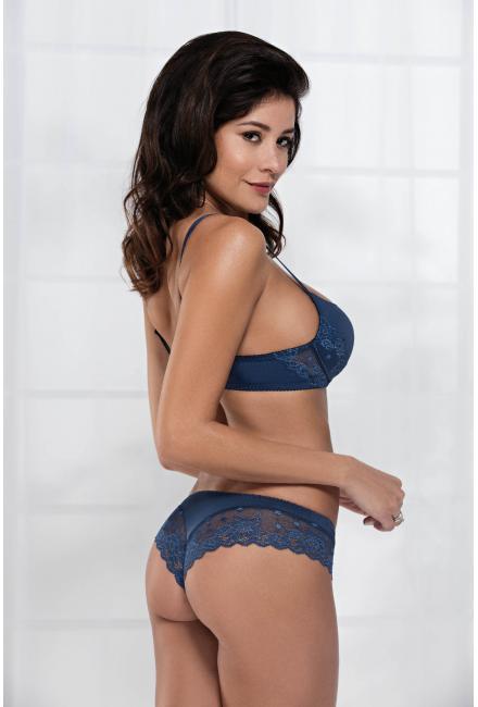 Трусы бразильяна «Irina» (Цвет: 23 - насыщенный-синий)