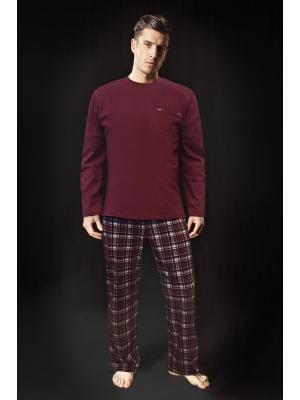 Пижама с длинными рукавами (Цвет: MH)