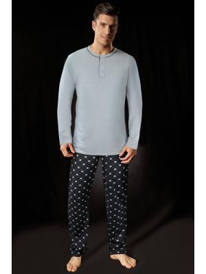 Пижама с длинным рукавом (Цвет: JS)