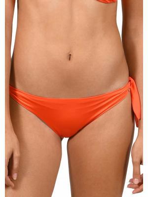 Плавки-слипы оранжевые на завязках Lisca 41303 GRAN CANARIA-o