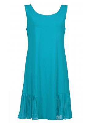 Платье из бирюзового трикотажа Lisca 49311 JAKARTA