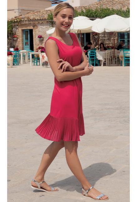 Платье из малинового трикотажа Lisca 49311 JAKARTA-m