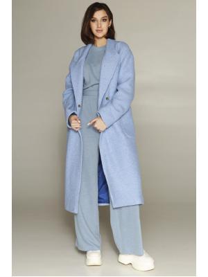 Пальто демисезонное миди LY 3418-bl