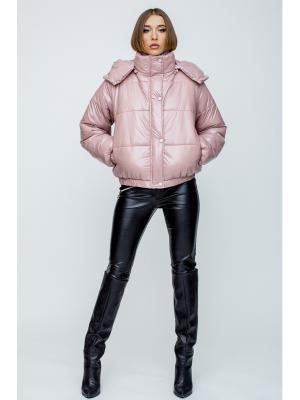 Куртка стеганная с капюшоном 059208-p