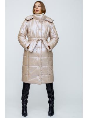 Пальто  утепленное с капюшоном 059231