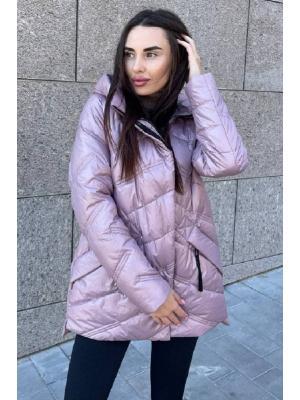 Куртка удлиненная с капюшоном LY 202-p