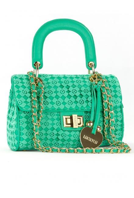 Дамская сумочка с гипюром LUCKYLU 21LL-ac04-ec