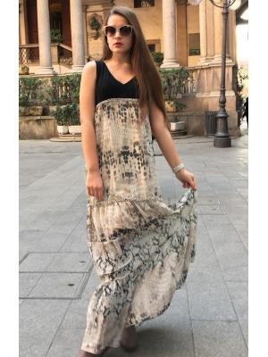 Платье-сарафан LUCKYLU 21LL-ab25-cs-cher