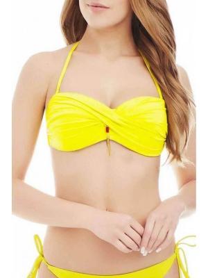 Лиф от купальника бандо Push-up Marc & Andre L1902-Y-952 желтый