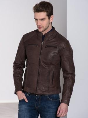 Куртка кожаная Marville 22MV90002