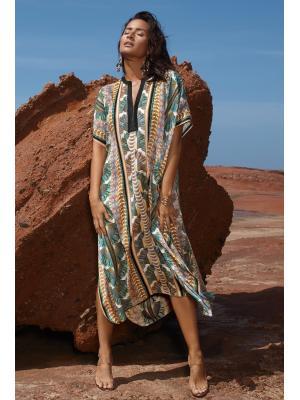 Туника Maryan Mehlhorn длинная с полосатым орнаментом 3241