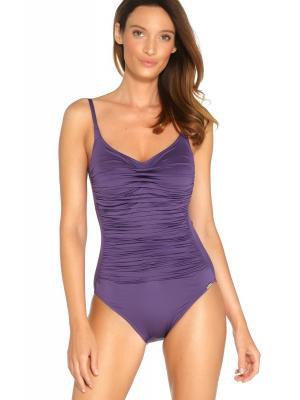 Купальник Maryan Mehlhorn фиолетовый с драпировкой 4310f