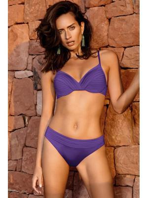 Купальник Maryan Mehlhorn фиолетовый с драпировкой 5450f
