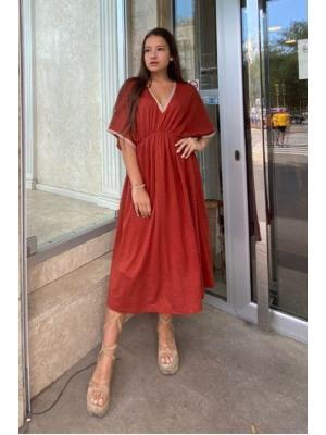 Платье миди Max Mara Vetro 36216066-01