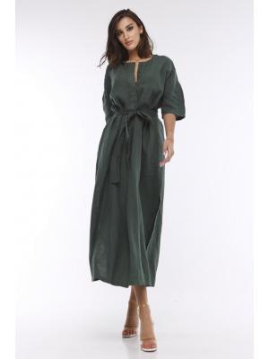 Платье-миди с коротким рукавом Max Mara Arda 32210616-001