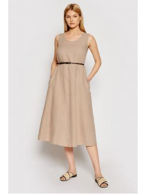 Платье-миди с поясом Max Mara Nettuno 322105166-002