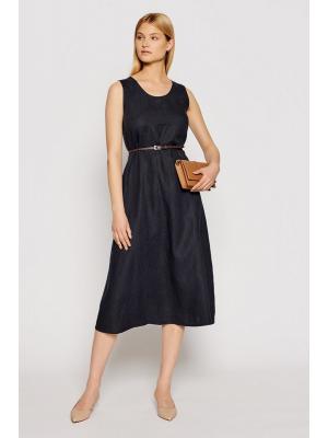 Платье-миди с поясом Max Mara Nettuno 32210516-004