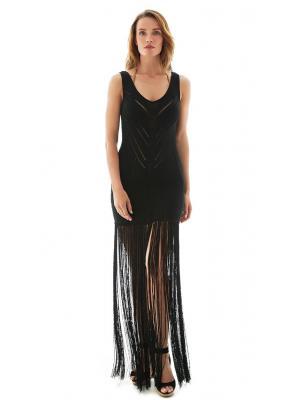 Платье-сарафан c бахромой MOEVA LONDON Liana 0233