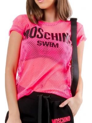 Футболка из сетки Moschino A1903 2104