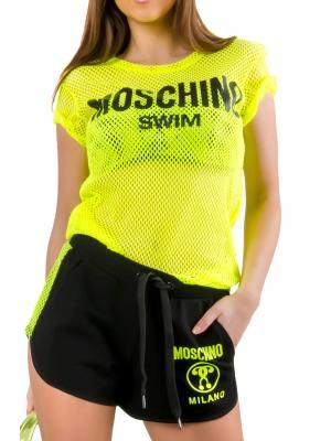 Футболка из сетки Moschino A1903 2104L