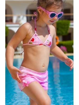Пляжные шорты-плавки для девочки Okay Brasil M-852