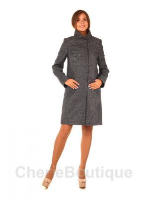 Пальто демисезонное с воротником-стойкой m-745