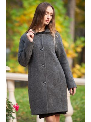Пальто демисезонное на пуговицах М-735-zs