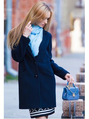 Демисезонное, укороченное пальто классического силуэта М737-b