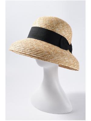 Шляпка из соломы с опущенными краями Jolie 1220