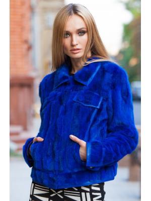 Укороченная норковая шубка-куртка 2315-88 vera pelliccia