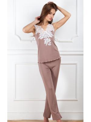 Комплект для сна (майка, брюки) Suavite Dominik-p