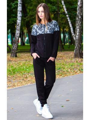 Домашний костюм с гипюровой кокеткой Suavite 261111