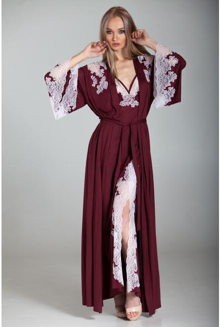 Длинный домашний халат Suavite-Мери-h-dl