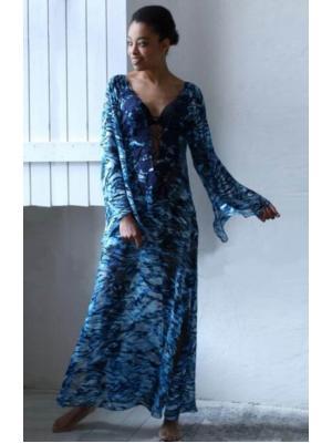 Длинное пляжное платье-туника Suavite 134622