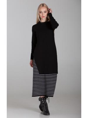Женский костюм (Платье, туника) sw536ab-black