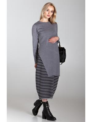 Женский костюм (Платье, туника) sw536ab-grey