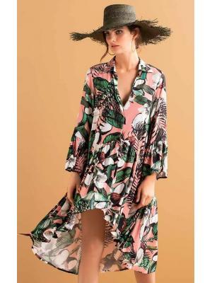 Платье-рубашка в цветочный принт Touche OA190-93