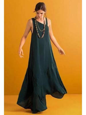 Платье-сарафан с асимметричным низом Touche OF120-93